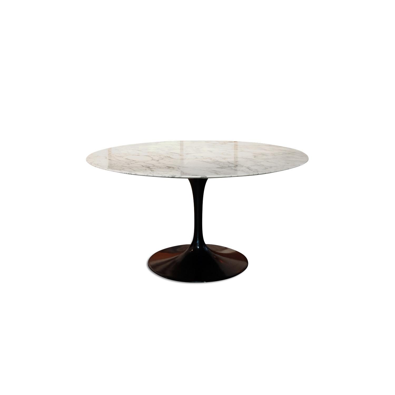 Vintage Knoll Saarinen 140cm Marble Black Base