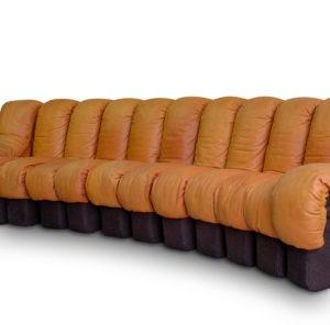 Vintage De Sede Aniline Leather Cognac, very good condition. Buy now.