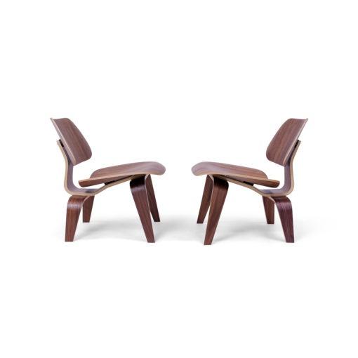 Herman Miller Lounge Chair Wood in Walnut