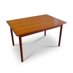 Teak Dining Table, Danish origin and good vintage condition.