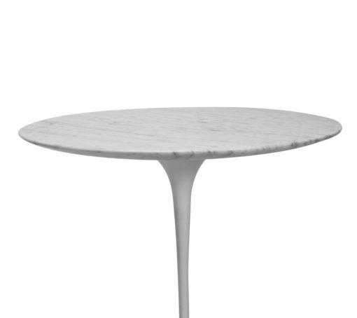 Vintage Knoll Saarinen Marble side Table White