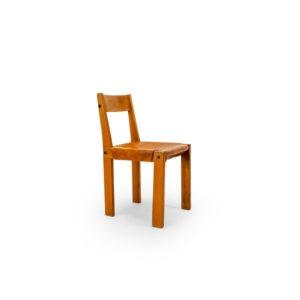 Pierre Chapo 1970s Chair, S24