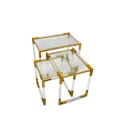 Charles Hollis jones vintage from 1970s, nesting table at Symple Design Suisse