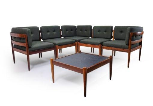 Rio Palisander Seating Group by Kai Kristiansen for Magnus Olesen Denmark