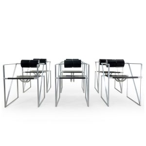 Vintage Seconda Chairs by Mario Botta, set of 6. 1980s Mobilier Vintage Design, Suisse Romande