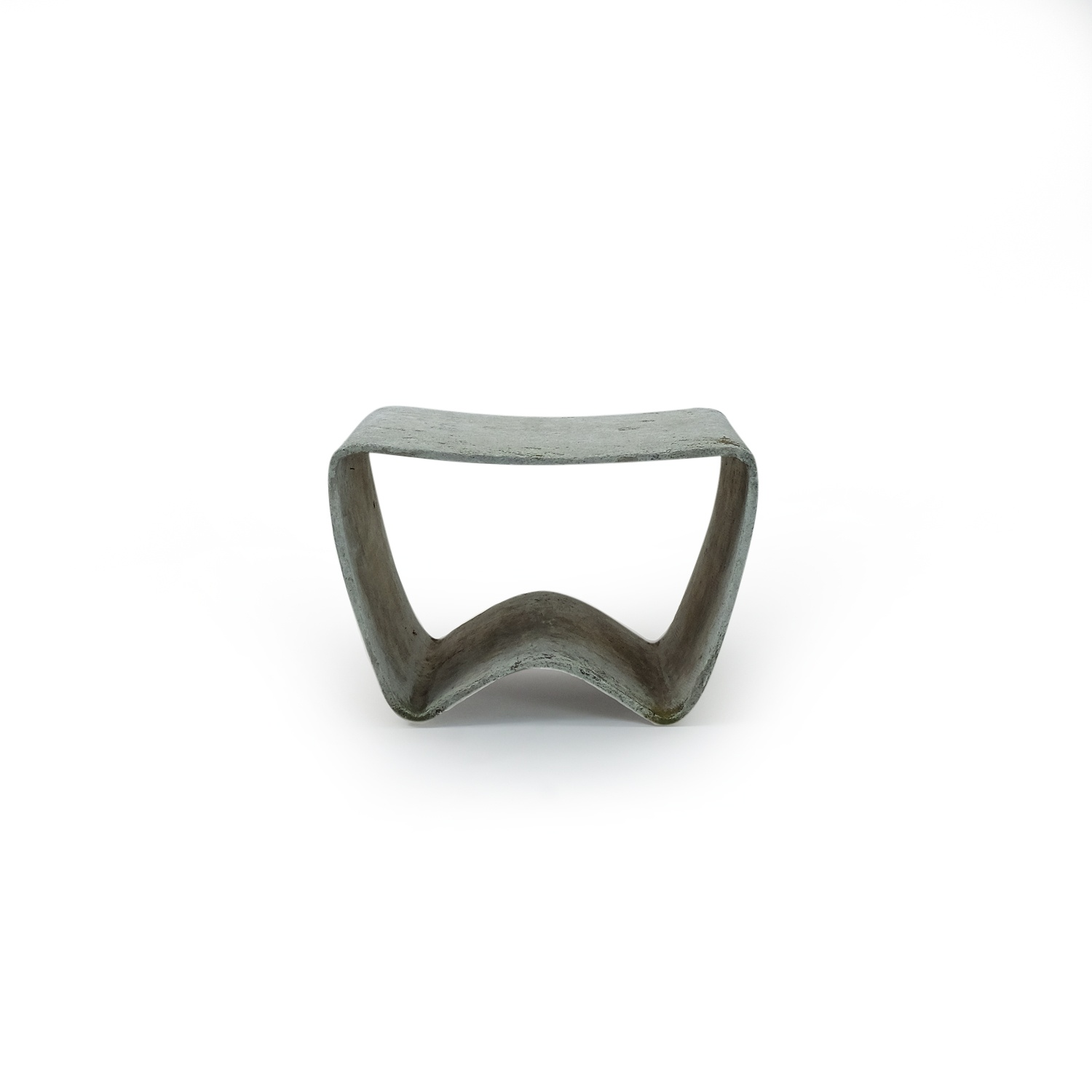 Vintage Stool Eternit by Walser, concrete. For sale at SympleDesign