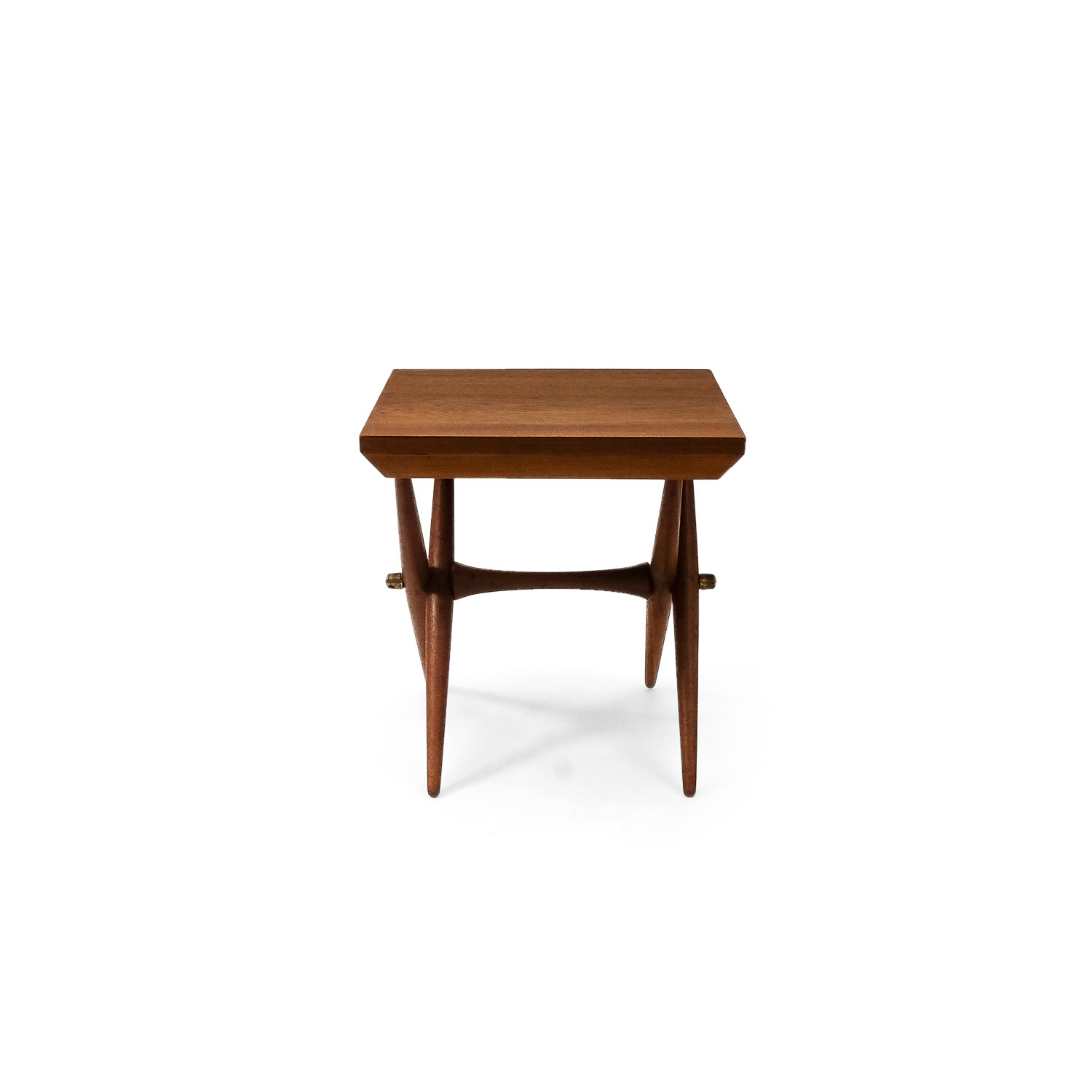Vintage Danish Jens Quistgaard Teak Side Table 1960s