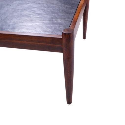 Kai Kristiansen Coffee table stone top vintage