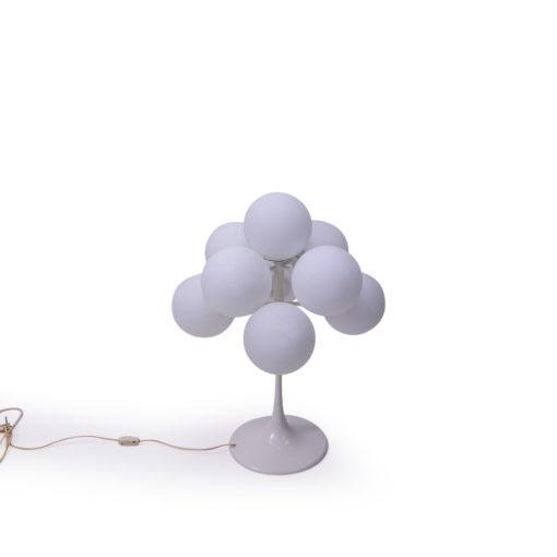 Vintage Atomic Bubble Lamp Swiss Design