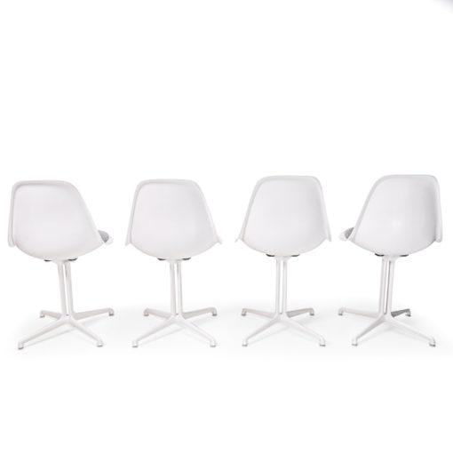 Herman miller Side Chair on la fonda base white
