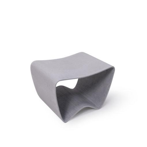 New Ludwig Walser Eternit Footstool