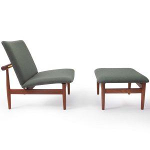 Vintage Finn Juhl Lounge Chair Original Japan