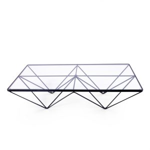 Low Geometrical Coffee Table by Paolo Piva for B&B Italia 1980s0