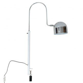 Stilnovo Table Lamp Chrome Hood Clamp