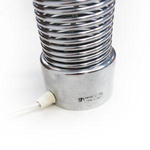 Guzzini Metal Spring Lamp Vintage Design Italian