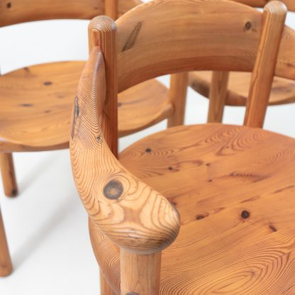 Rainer Daumiller Pinewood Furniture Table and Chairs Vintage