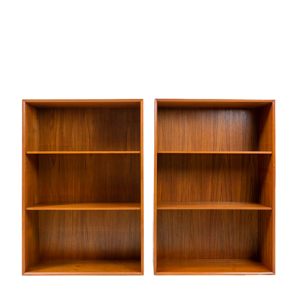Book Shelving Unit by Arne Vodder for Sibast Furniture in Teak made in Denmark 1950s