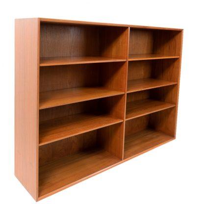 Book Shelving Unit by Arne Vodder for Sibast Furniture in Teak made in Denmark 1950s