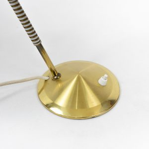 Vintage metal table lamp by Car Aubock, for sale price Switzerland