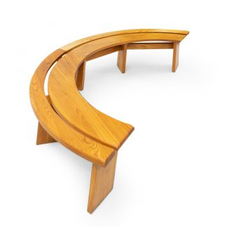 Pierre Chapo Vintage Benches Elmwood for sale