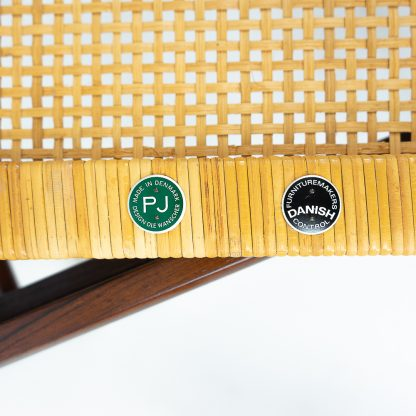 Ole Wanscher for Poul Jeppesen Lounge Set vintage danish rosewood