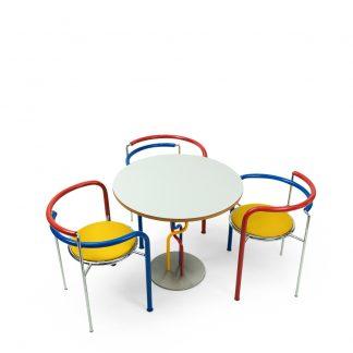 Sorensen Thygesen Black Horse table and chairs