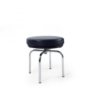 LC8 Leather stool by Cassina Perriand