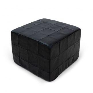 De Sede Leather ottaman black
