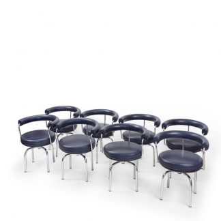 Charlotte Perriand for Cassina LC7 Chairs