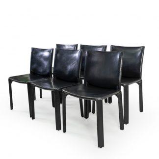 Cassina CAB 412 Black Leather