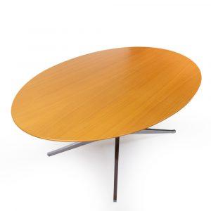 Florence Knoll Table desk oak