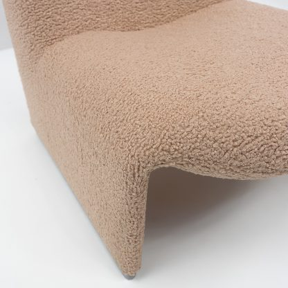 Alky Chairs Reupholstered in Bouclé