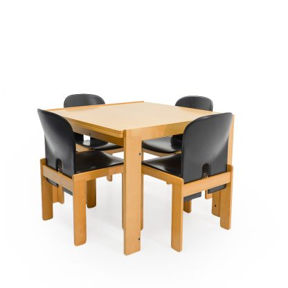 Tobia Scarpa Table and Chairs