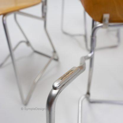 Vintage Armin Wirth Aluflex Chairs