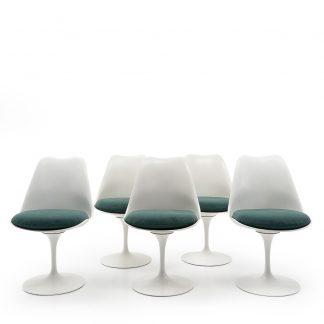 Knoll Saarinen WB Form Tulip Side Chairs