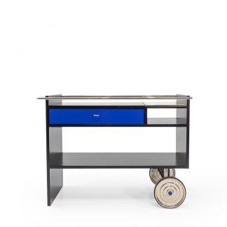 WB Form Swiss design Bar cart by Ulrich P Wieser